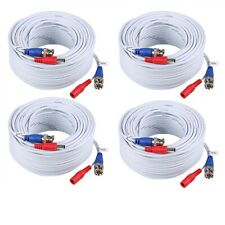 ANNKE 4x 30M 100FT Video DC Power Cable for CCTV Camera DVR Security System