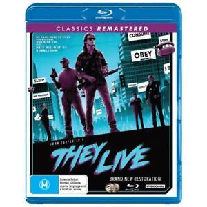 They Live Blu-ray | John Carpenter's | Region Free
