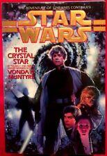 Star Wars The Crystal Star by Vonda N. McIntyre (1994, Hardcover Book) Like NEW!