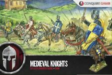28MM MEDIEVAL KNIGHTS - CONQUEST GAMES - DARK AGE - VIKING - NORMAN - SAXON SAGA