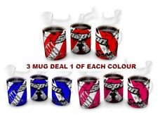 SNAP  ON  3 MUG DEAL  Mechanics , Mug Like Snap On original-pink-blue  3  MUGS