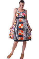 Summer/Beach Sundress Hand-wash Only Geometric Dresses for Women