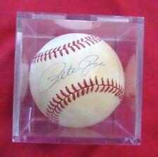 nn: Signed Baseball, Pete Rose, MLB, Houston Astros, New York Mets