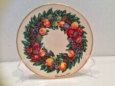 Lenox 1988 Colonial Christmas Wreath Limited Edition Plate 8th in Series