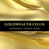 GOLDWEALTH.CO.UK  Premium Domain Name For Sale Gold Bullion Coins Bars Online