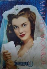 Marilyn Monroe calendrier 1990