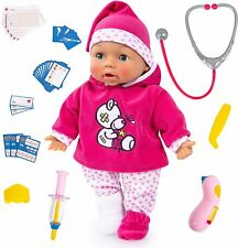 Babypuppe, Funktionspuppe, Doktorpuppe, Doctor Baby 38cm, mit Sounds, Interaktiv