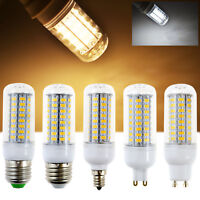 5W - 18W E26 E27 E12 G9 GU10 B15 5730 SMD LED Corn Light Bulb Cornhole Lamp 110V