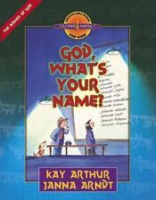God, What's Your Name? (Discover 4 Yourself Inductive Bible Studies for Kids) by