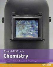 Edexcel GCSE (9-1) Chemistry Student Book by Mark Levesley, Penny Johnson, John Ling, Sue Robilliard, Iain Brand, Nigel Saunders (Paperback, 2016)