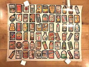 1979 wacky packages series 1 complete set on uncut sheet unused