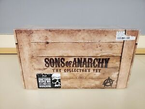 Sons of Anarchy The Collector's Set (Blu-ray Disc, 2014) 17 Discs 6 Seasons New