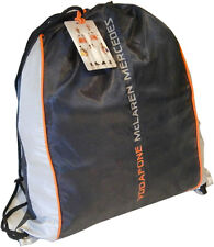 Vodafone McLaren Mercedes Formula 1 Racing Team Gym Kit Bag Sports Travel
