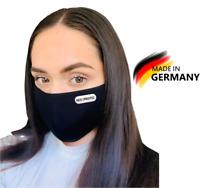 2x Mundschutz Wiederverwendbare Maske Waschbar Atemschutz Behelfsmaske Mundmaske