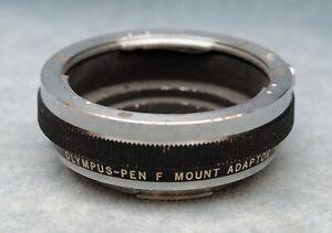 ORIGINAL OLYMPUS-PEN F MOUNT ADAPTER ADAPTER N (NIKON LENS TO PEN-F MOUNT) (CR)