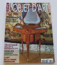 Revue OBJET D'ART ESTAMPILLE 340 1999 Topino ébéniste Francisque Millet II XVII°