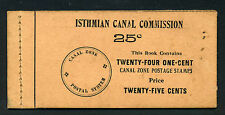 Canal Zone Scott #32c Complete Handmade Booklet of 4 Panes w/ERROR Booklet Cover
