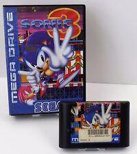 Sega Mega Drive- Sonic 3 + OVP