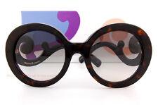 Brand New Prada Sunglasses PR 08TS 2AU 0A7 Tortoise White/Gradient Gray Women