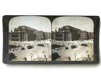 Autriche Österreich Vienna Opéra Fotografia Stereo Stereoview Vintage