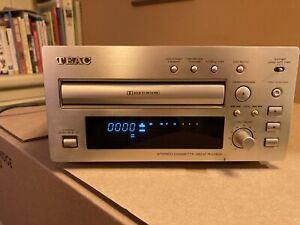 TEAC R-H300 Stereo Cassette Recorder Deck Hi-Fi Component + Manual