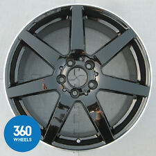 "Genuine Mercedes Classe C 18"" 7 Spoke AMG roue en alliage noir poli A2044019802"