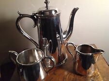 Vintage Coffee Set Silver Plated 3 Pieces  Martin Hall & Co