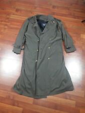Vintage Burberry Trench Coat Jacket  s40 fits large Great Condition With Liner