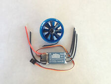 EDF40 + 30A ESC BUNDLE - (264G MAX THRUST) 8 BLADE 40MM EDF WITH 8600KV MOTOR