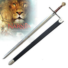 PRINCE PETER NARNIA LION MAGIC KINGDOM SWORD ENGRAVINGS W/ SCABBARD 47""