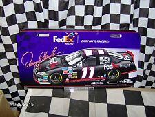 Denny Hamlin # 11 FedEx Freight License Plate