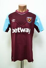 West Ham United 2017/2018 home football shirt jersey Umbro Size M adult
