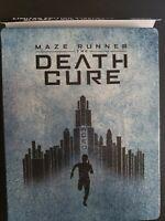 Maze Runner The Death Cure Bluray dvd Steelbook free Shipping