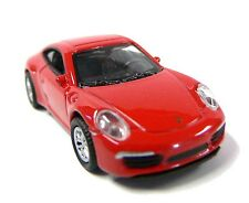 HO 1:87 Scale Welly HO Scale (1:87) Die Cast Car Red Porsche 911 Carrera S