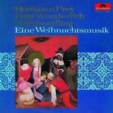 FRITZ/PREY,HERMANN/QUADFLIEG,WILL WUNDERLICH - EINE WEIHNACHTSMUSIK  CD NEU