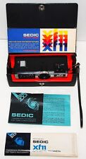 Collectible SEDIC xf11 110 Pocket Camera in Case with Documents Made in Japan