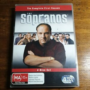 The Sopranos Season 1 DVD R4 LIKE NEW FREE POST