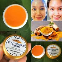 Turmeric Plai Whitening Cream Nourishing Face Skin Dark Spot Night Cream 5 g