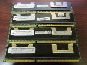 Lot 16 !!! Micron MT36JSZF51272PZ/PY 4GB PC3-10600R DDR3 ECC RAM