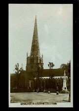 Warwicks Warwickshire SOLIHULL Parish Church 1943 RP PPC