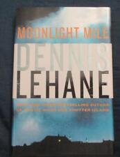 Moonlight Mile, Dennis Lehane, HBDJ 2010 1st, Signed!