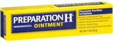 Preparation H Hemorrhoidal Ointment Irritation Soothing Relief 1oz Exp date 8/18