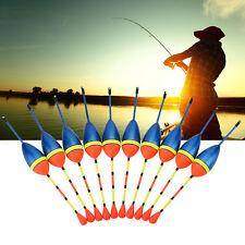 10Pcs Carp Fishing Floats Set Buoy Bobber Light Stick Floating Tackle OB