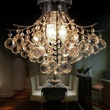 Elegant Crystal Chandelier Pendant Lamp Ceiling Light Fixture/3 Lighting