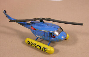 CORGI ART 924 RESCUE HELICOPTER CHOPPER SCRAPYARD GRAVEYARD