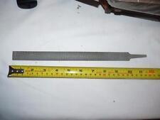 HALF ROUND WOOD RASP - BASTARD - 10 INCHES LONG X 1/2 INCH