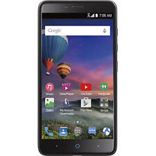 Zte Stzez962Bgp4P Max Duo 4G Lte Gsm Prepaid Smartphone Straight Talk