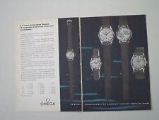advertising Pubblicità 1960 OROLOGI OMEGA SEAMASTER