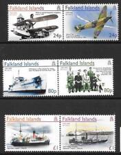FALKLAND ISLANDS SG1015/20 2005 END OF SECOND WORLD WAR   MNH