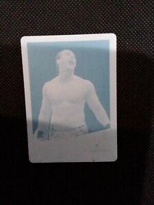 2013 Topps WWE Raw Epico Cyan Printing Plate 1/1